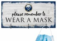 Buffalo Sabres Please Wear Your Mask Sign