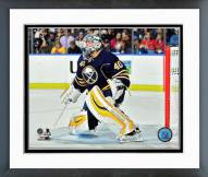 Buffalo Sabres Robin Lehner Action Framed Photo