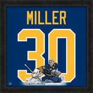Buffalo Sabres Ryan Miller Uniframe Framed Jersey Photo
