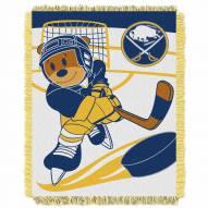 Buffalo Sabres Score Baby Blanket