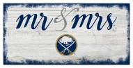 Buffalo Sabres Script Mr. & Mrs. Sign