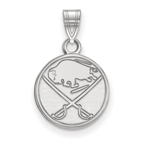 Buffalo Sabres Sterling Silver Small Pendant