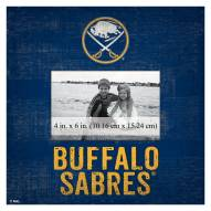 "Buffalo Sabres Team Name 10"" x 10"" Picture Frame"