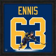 Buffalo Sabres Tyler Ennis Uniframe Framed Jersey Photo