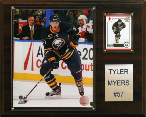 """Buffalo Sabres Tyler Myers 12"""" x 15"""" Player Plaque"""