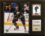 "Buffalo Sabres Tyler Myers 12"" x 15"" Player Plaque"