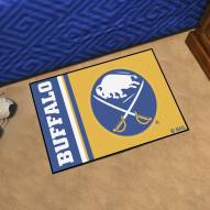 Buffalo Sabres Uniform Inspired Starter Rug