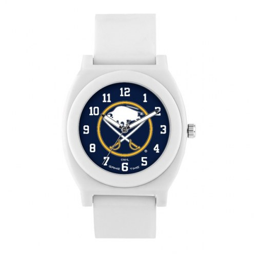 Buffalo Sabres Unisex Fan White Watch