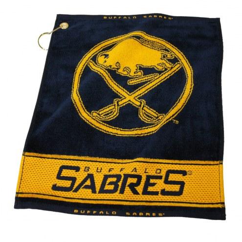 Buffalo Sabres Woven Golf Towel