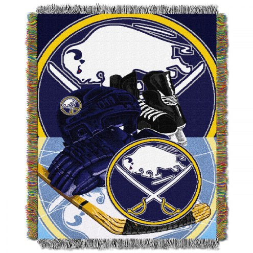 Buffalo Sabres Woven Tapestry Throw Blanket
