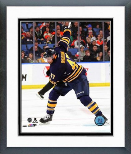 Buffalo Sabres Zach Bogosian 2014-15 Action Framed Photo