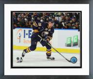Buffalo Sabres Zemgus Girgensons Action Framed Photo