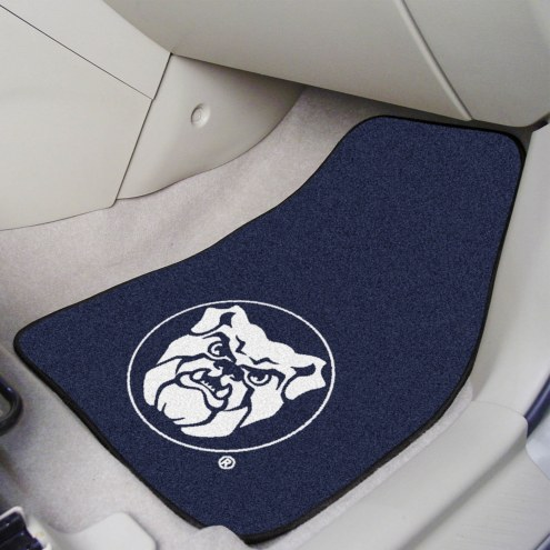Butler Bulldogs 2-Piece Carpet Car Mats