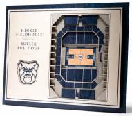 Butler Bulldogs 5-Layer StadiumViews 3D Wall Art