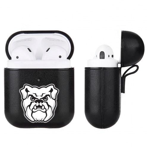 Butler Bulldogs Fan Brander Apple Air Pods Leather Case