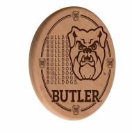 Butler Bulldogs Laser Engraved Wood Sign
