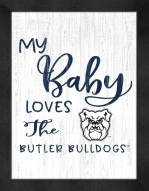 Butler Bulldogs My Baby Loves Framed Print