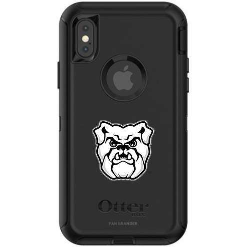 Butler Bulldogs OtterBox iPhone X/Xs Defender Black Case