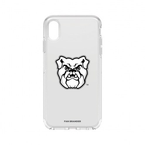 Butler Bulldogs OtterBox iPhone XS Max Symmetry Clear Case
