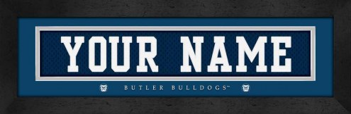 Butler Bulldogs Personalized Stitched Jersey Print