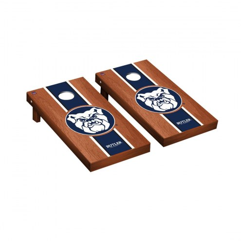 Butler Bulldogs Rosewood Stained Cornhole Game Set