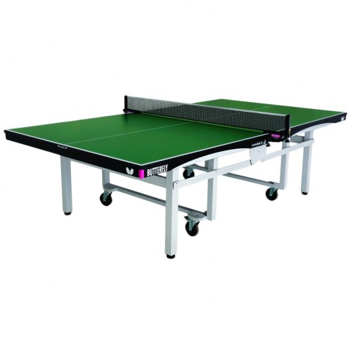 Butterfly Centrefold 25 Green Rollaway Ping Pong Table