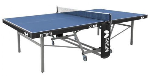Butterfly Club Rollaway Table Tennis Table