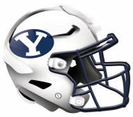"""BYU Cougars 12"""" Helmet Sign"""