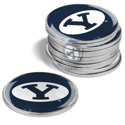 BYU Cougars 12-Pack Golf Ball Markers