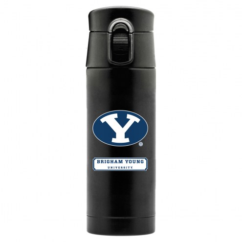 BYU Cougars 16 oz. Double Wall Stainless Steel Thermos