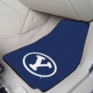 BYU Cougars 2-Piece Carpet Car Mats