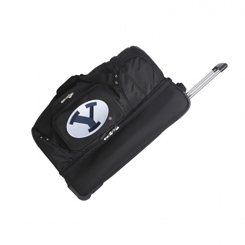 "BYU Cougars 27"" Drop Bottom Wheeled Duffle Bag"