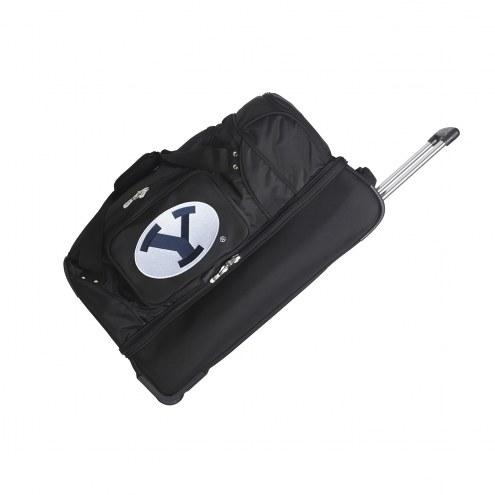 "BYU Cougars 27"" Drop Bottom Wheeled Duffle Bag"