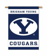 "BYU Cougars 28"" x 40"" Two-Sided Banner"