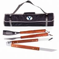BYU Cougars 3 Piece BBQ Set