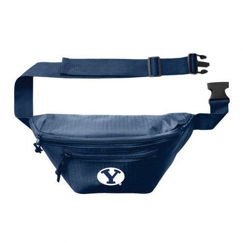 BYU Cougars 3-Zip Hip Fanny Pack