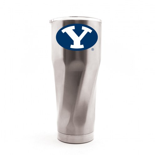 BYU Cougars 30 oz. Stainless Steel Travel Tumbler