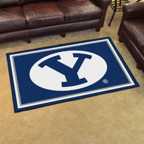BYU Cougars 4' x 6' Area Rug