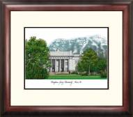 BYU Cougars Alumnus Framed Lithograph