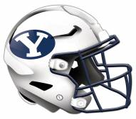 BYU Cougars Authentic Helmet Cutout Sign