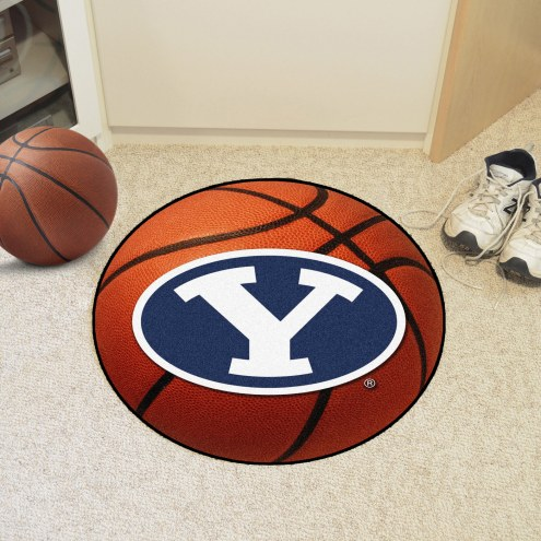 BYU Cougars Basketball Mat