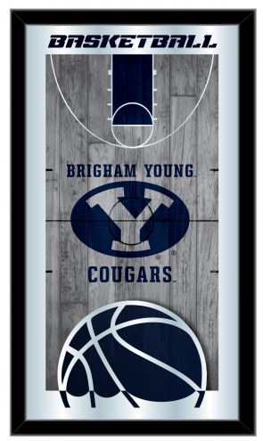 BYU Cougars Basketball Mirror