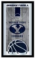 BYU Cougars Basketball Mirror