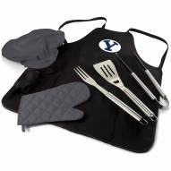 BYU Cougars BBQ Apron Tote Set