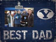 BYU Cougars Best Dad Clip Frame