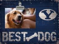 BYU Cougars Best Dog Clip Frame