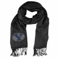 BYU Cougars Black Pashi Fan Scarf
