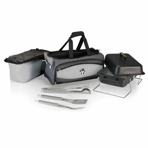BYU Cougars Buccaneer Grill, Cooler and BBQ Set