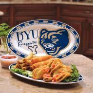 BYU Cougars Ceramic Serving Platter