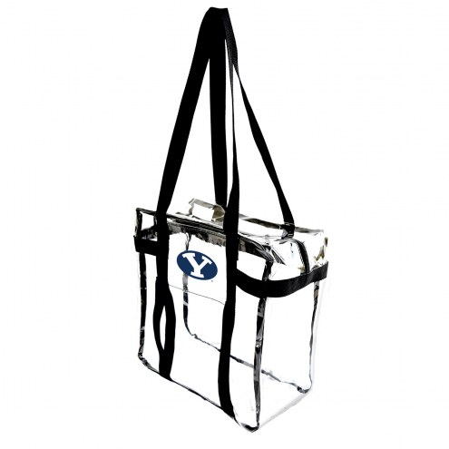 BYU Cougars Clear Tote Along